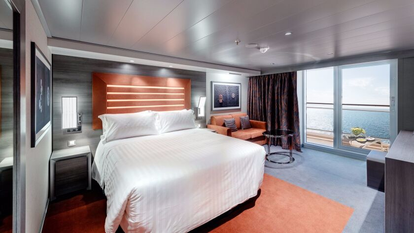 There are 10 different cabin types to choose from aboard the Meraviglia.