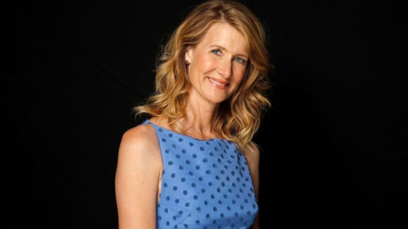 "Laura Dern, nominated for supporting actress for ""Big Little Lies."""
