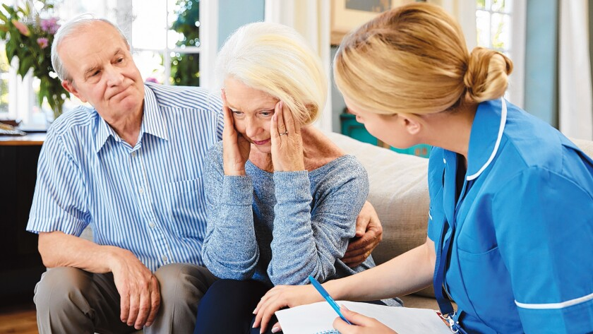 Women are at greater risk for Alzheimer's than men; almost two-thirds of Americans with the disease are female.