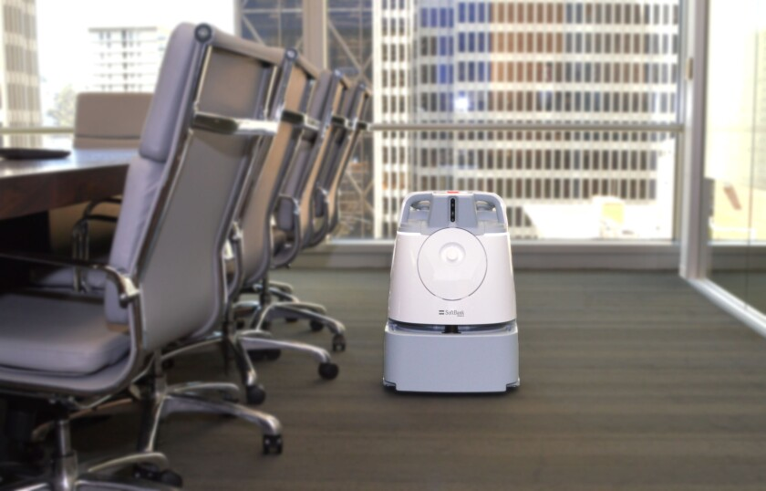 The Whiz is an automated vacuum for use in hotels and office buildings.