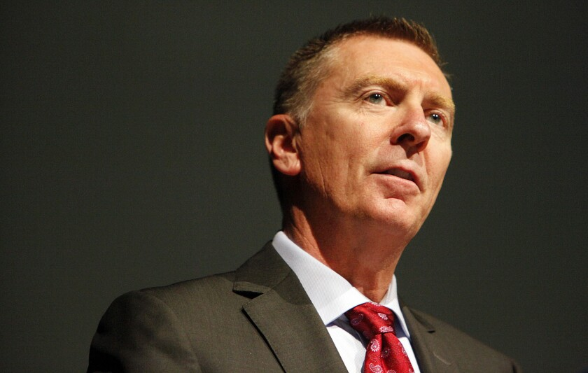 L.A. Unified Supt. John Deasy has resigned.