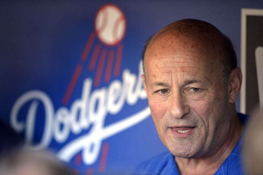 Dodgers President Stan Kasten admits there's a lack of top-level prospects in the team's minor league system.