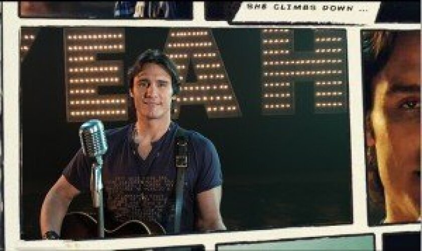 Joe Nichols in a scene from his new video for 'Yeah.'  Courtesy photo