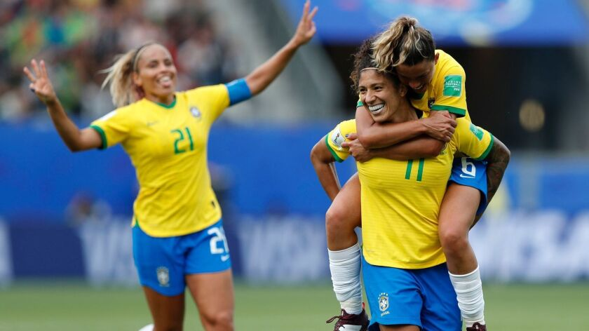 FIFA Women's World Cup 2019, Grenoble, France - 09 Jun 2019