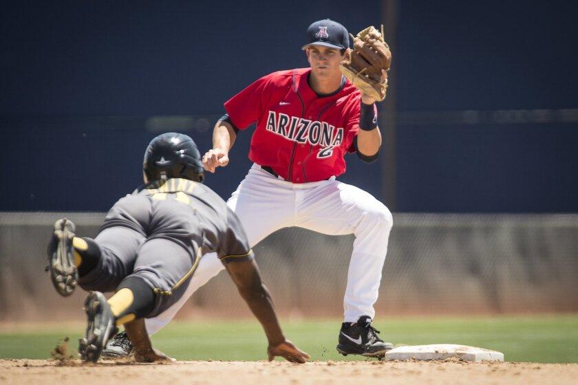 Poway graduate Kevin Newman plays shortstop for Arizona.