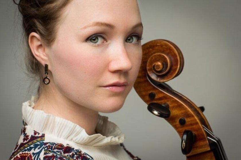 Cellist Ashley Bathgate