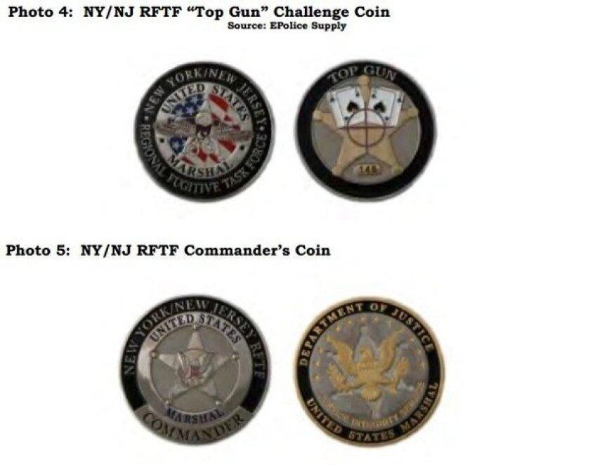 U.S. Marshals coins