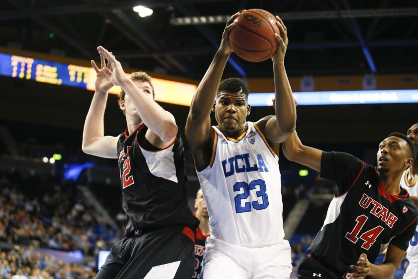 UCLA center Tony Parker returned to play 25 minutes in Thursday's win over No. 11 Utah after missing two games with back spasms.