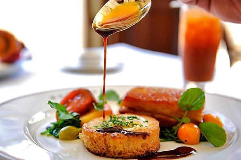 Egg dish at Bouchon