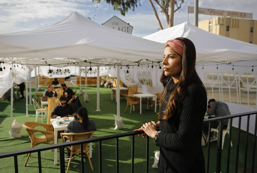 Alondra Ruiz, owner of The Village San Diego.