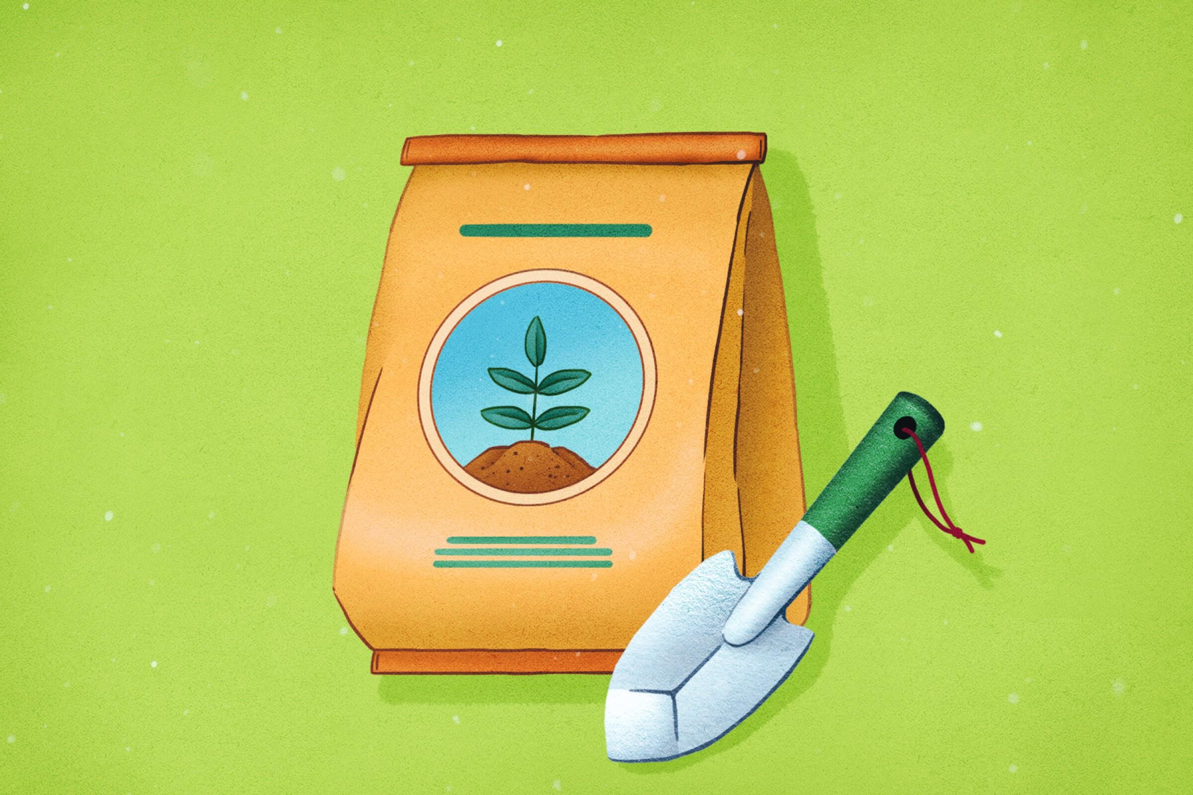 Fertilizer illustration