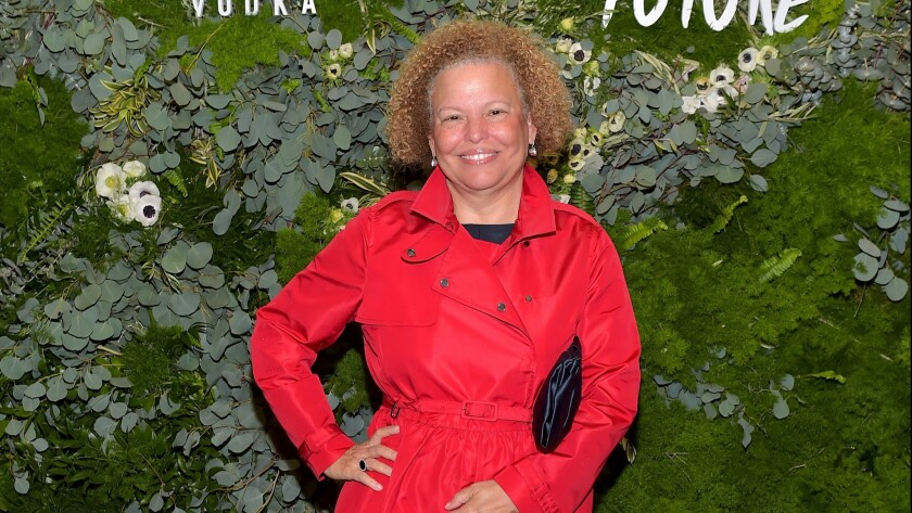 BET Chief Executive Debra L. Lee attends the Fem the Future brunch at Catch LA in West Hollywood on Friday.