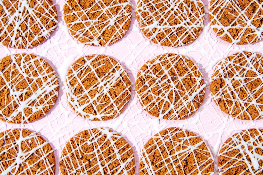These cookies taste great even without the maple icing.