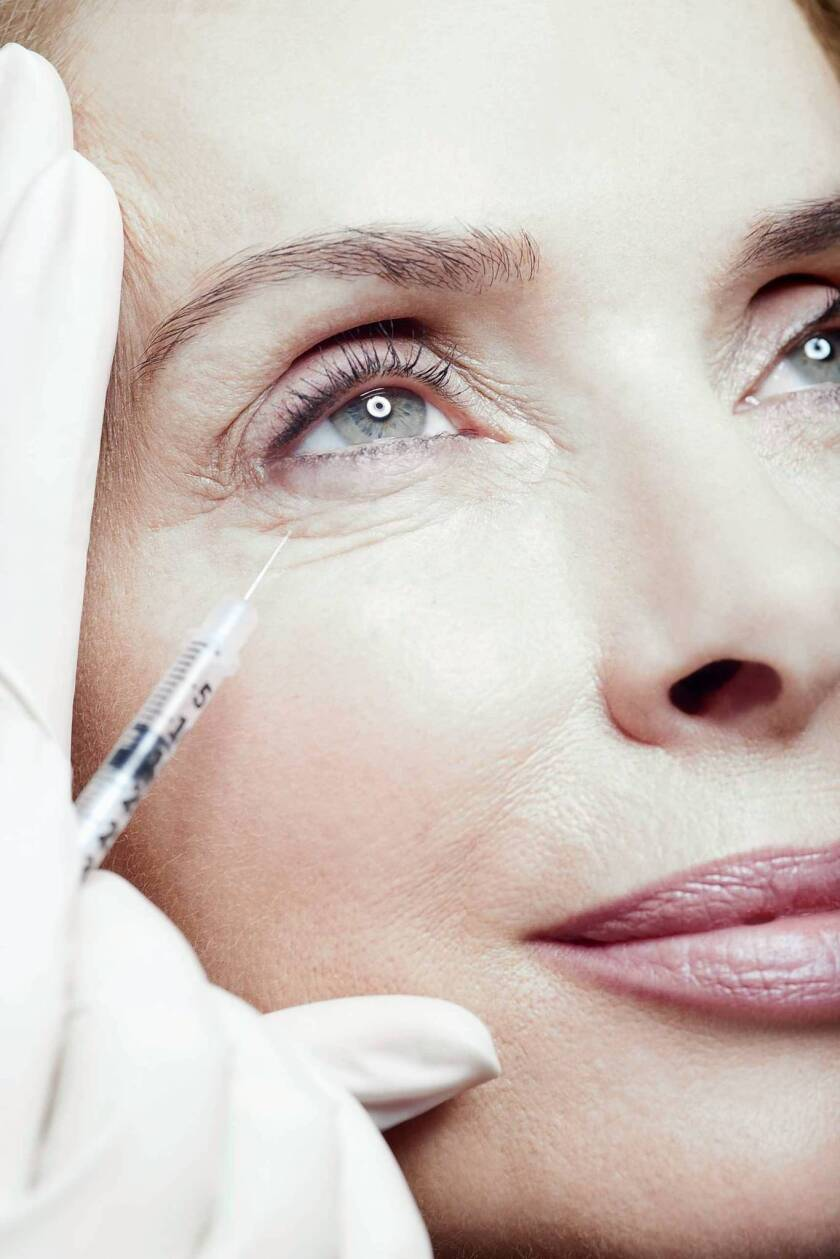Botox is among the tools doctors use to make patients look younger.
