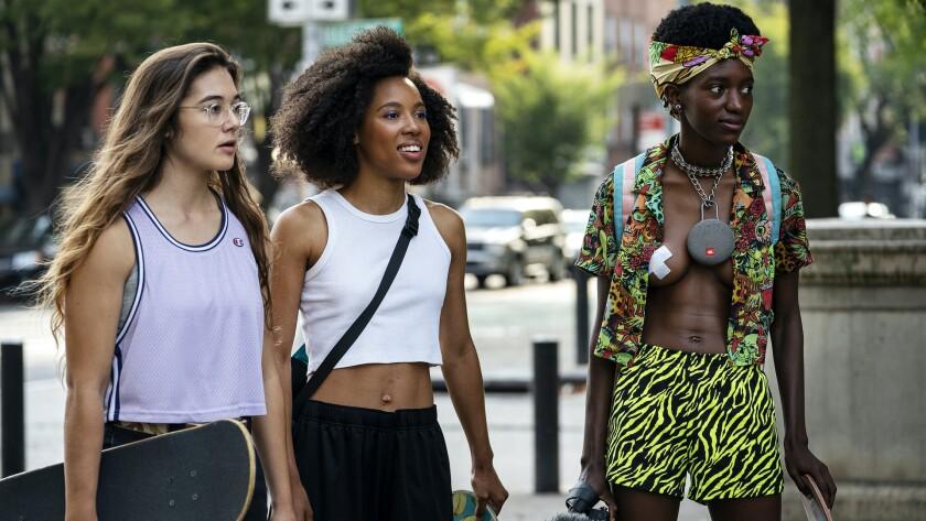 "Rachelle Vinberg, Ardelia ""Dede"" Lovelace and Moonbear in ""Betty"" on HBO."