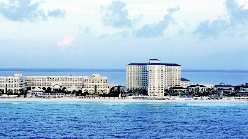 The JW Marriott Cancun is taking a third off its best-available rates for rooms booked Nov. 27-30.