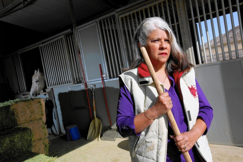 Roberta Walker was a plaintiff in the original suit against Pacific Gas & Electric Co., which ended with Hinkley, Calif., residents winning a $333-million settlement over contaminated groundwater.