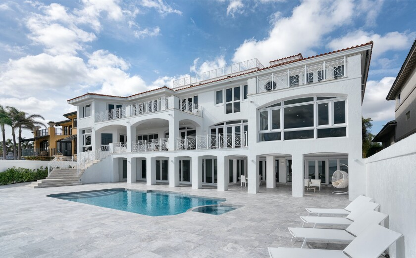 Alonzo Mourning's former Miami mansion
