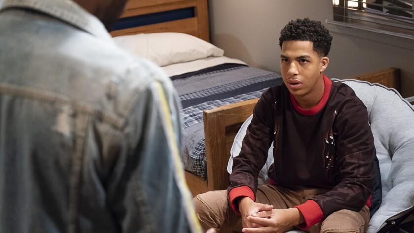 "Marcus Scribner in ""black-ish"" on ABC."