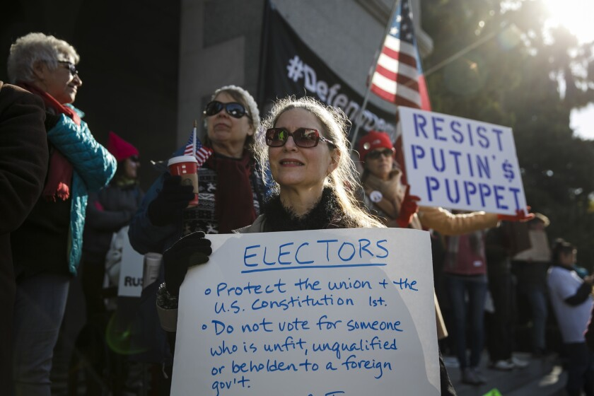 Letters to the Editor: How states make the electoral college even more undemocratic