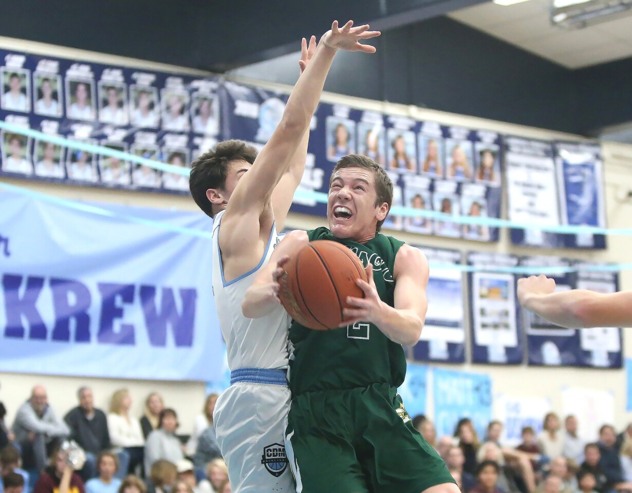 Photo Gallery: Edison vs. Corona del Mar in boys' basketball