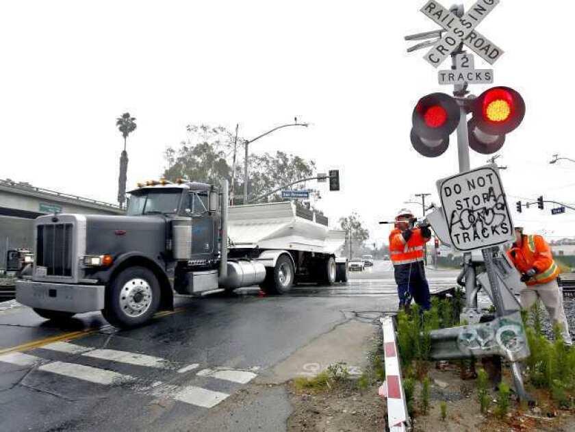 Doran Street crossing upgrade coming