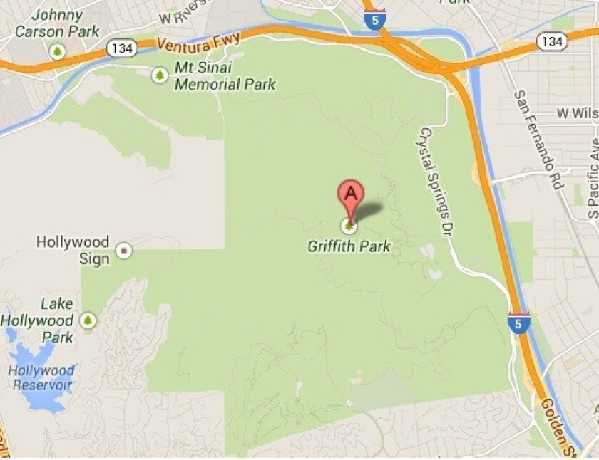 Four stranded hikers were rescued late Sunday afternoon from Griffith Park.