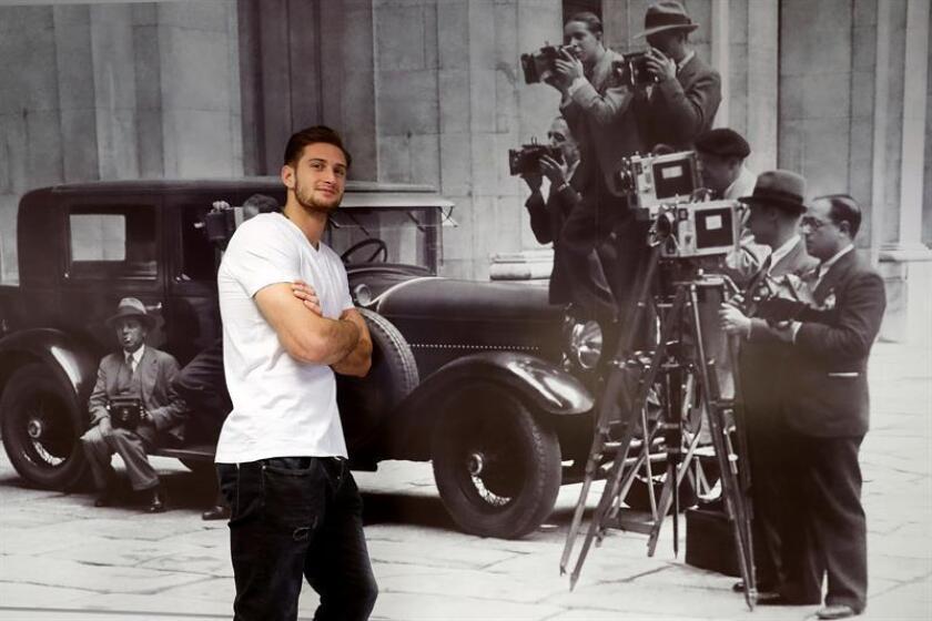 Nikoloz Sherazadishvili, campeón del mundo de judo en -90 kilos, en una entrevista con Efe. EFE/Archivo