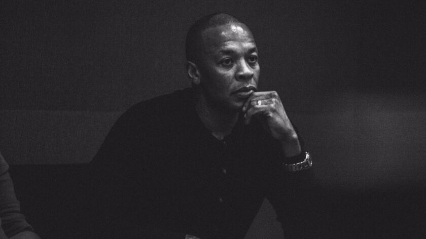 Rock and Roll Hall of Fame rapper, producer, record mogul and cofounder of Beats by Dre, Dr. Dre is