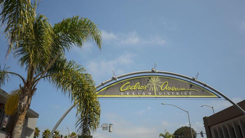 Cedros Art district, Solana Beach California