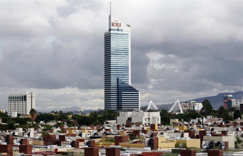 Vista de un hotel de la cadena española Riu Hotels & Resorts. EFE/Archivo
