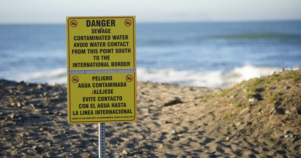 Imperial Beach shoreline closed again after being blasted for weeks by Tijuana sewage