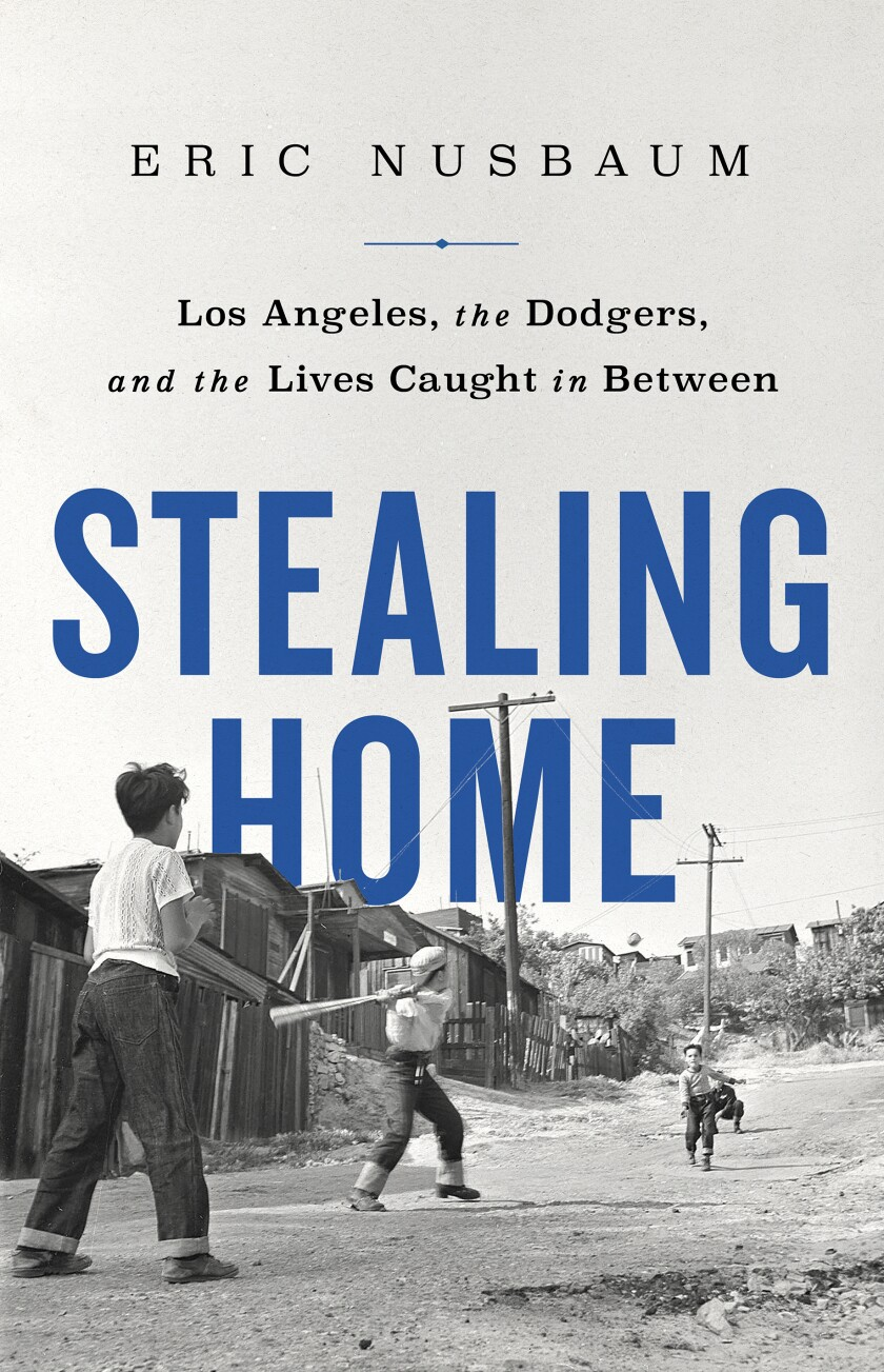 "A book jacket for Eric Nusbaum's ""Stealing Home."" Credit: PublicAffairs"