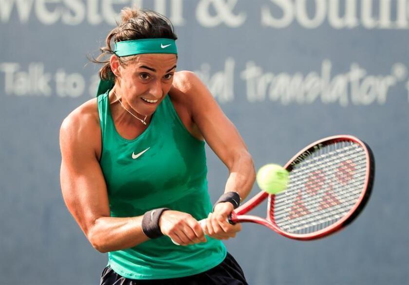 Caroline García, tenista francesa. EFE/Archivo