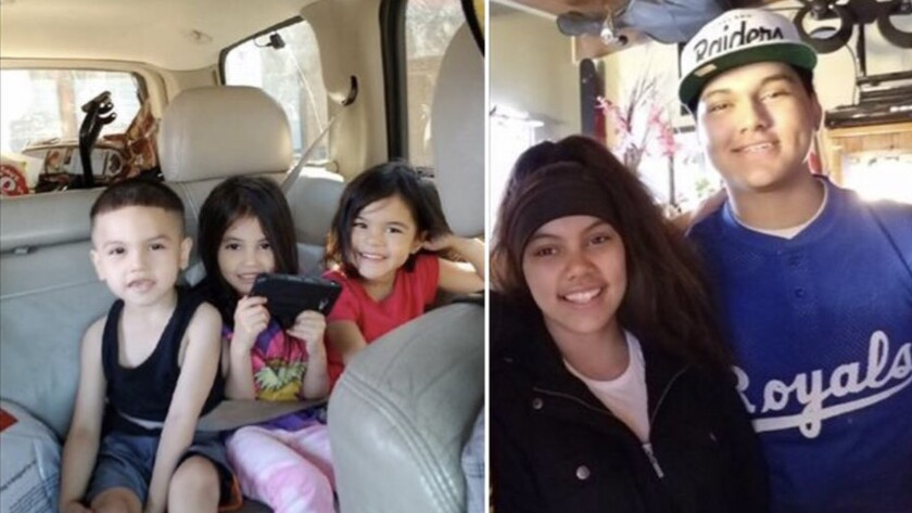 Stockton police are searching for five children who left a foster home in the city over the weekend.