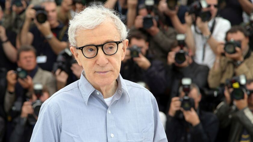FILE - In this Wednesday, May 11, 2016, file photo, director Woody Allen poses for photographers dur