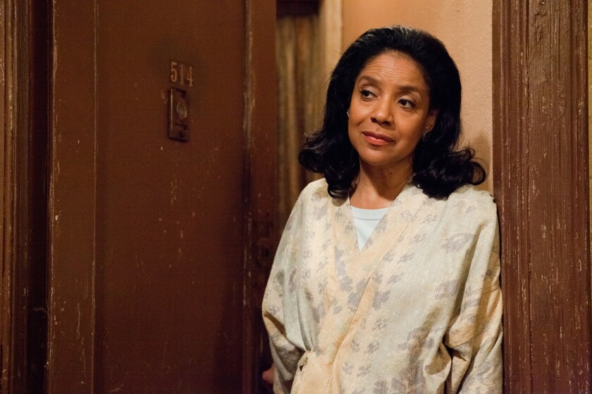 """Phylicia Rashad as Gilda in the movie """"For Colored Girls"""" in 2010."""