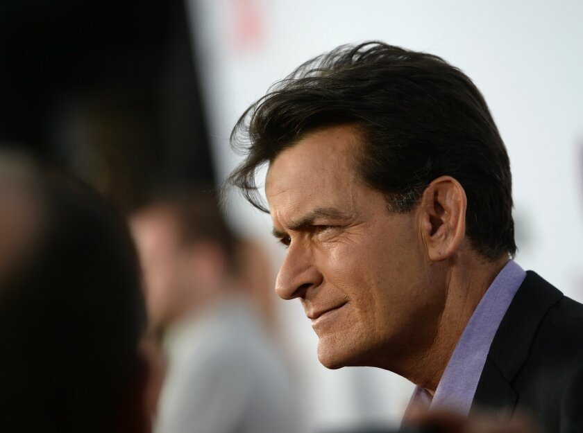 Charlie Sheen. Actor.