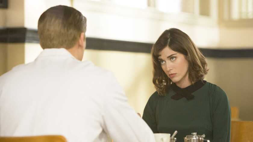 """Lizzy Caplan in """"Masters of Sex"""" on Showtime."""