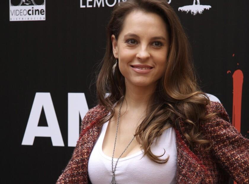 Fotografía cedida por Photoamc de la actriz mexicana Marina de Tavira