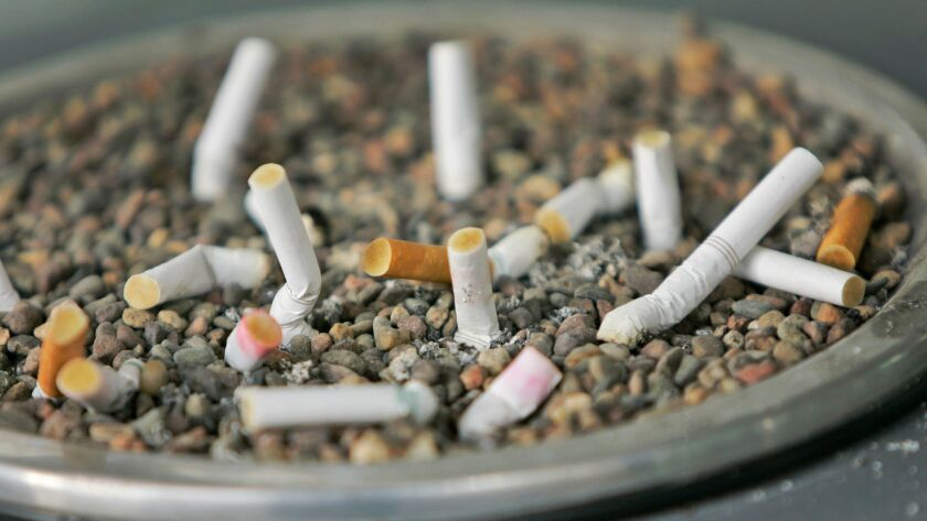 About 15 percent of adult Americans smoke cigarettes or use other types of tobacco.