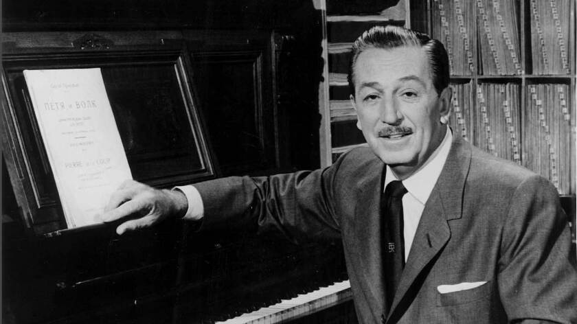 From The Archives Wizard Of Fantasy Walt Disney Dies Los