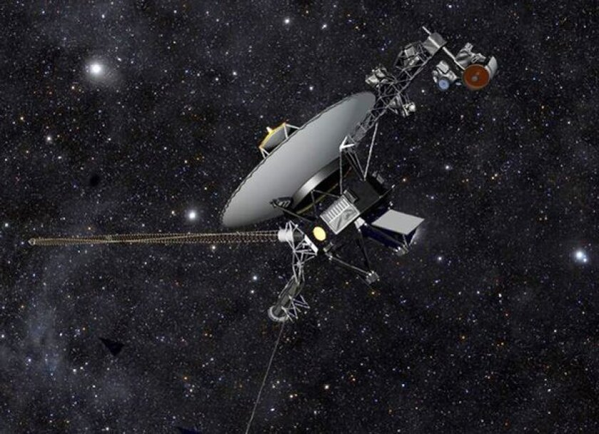 Voyager 1 was built at the Jet Propulsion Laboratory. Today it is in interstellar space, 11.6 billion miles from Earth.