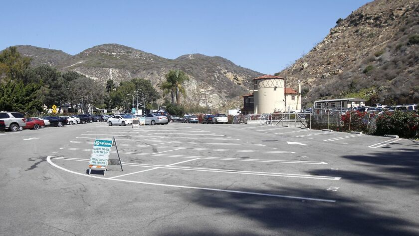 The Forest Ave parking lot is part of the the proposed Village Entrance project.