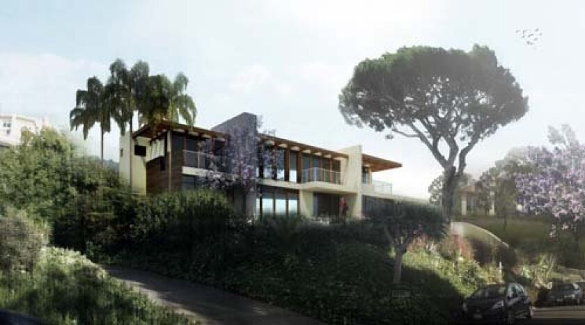 The design of this home won a merit award at the Pacific Coast Builders Conference. Photo: Courtesy