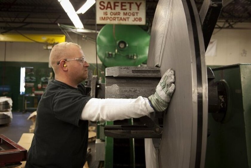 Industrial production jumped last month, making up for Sandy losses