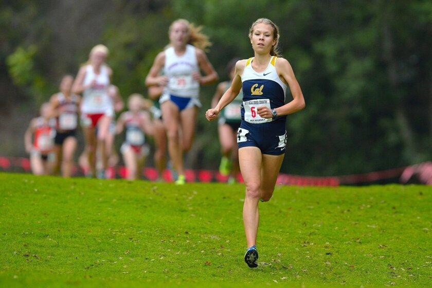 Cal runner Elisa Karhu will make her half-marathon debut in San Diego on Sunday.