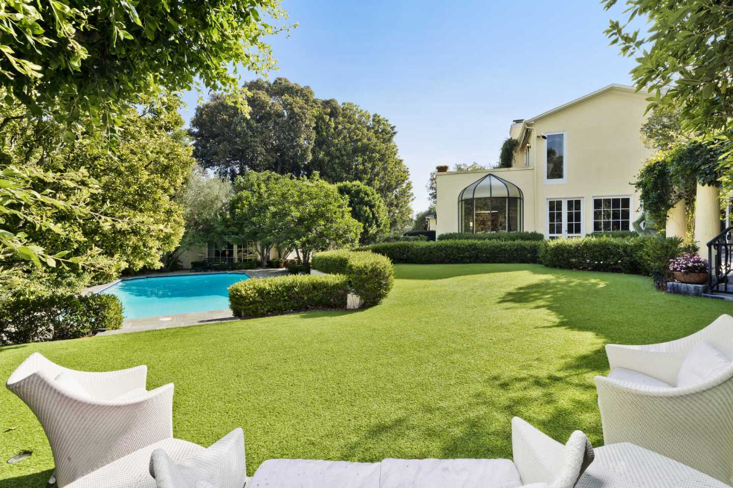 Judith Krantz's Bel-Air estate