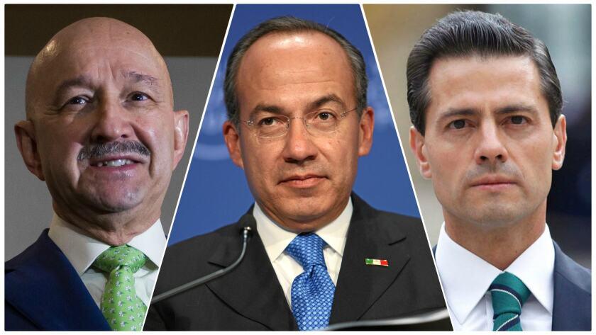 Mexicanos recaban firmas para pedir consulta para enjuiciar a ex presidentes