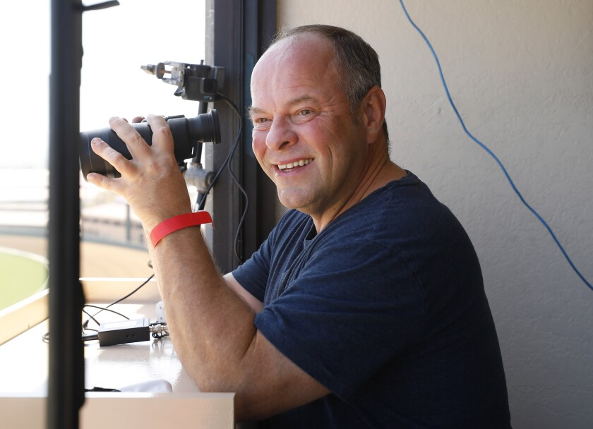 Larry Collmus will announce this summer at Del Mar, taking over for Trevor Denman.